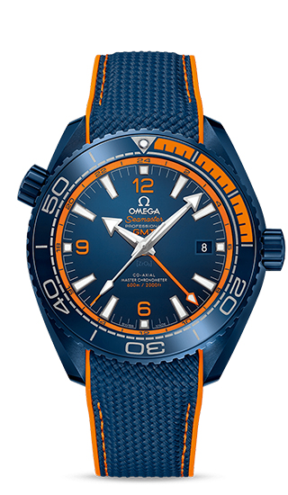 Planet Ocean 600M Omega Co-Axial Master Chronometer GMT 45,5 mm Big Blue