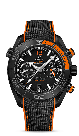 Planet Ocean 600M Omega Co-Axial Master Chronometer Chronograph 45,5 mm Deep Black