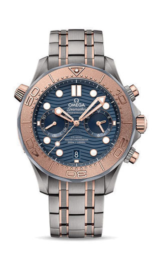 Diver 300M Omega Co-Axial Master Chronometer Chronograph 44 mm