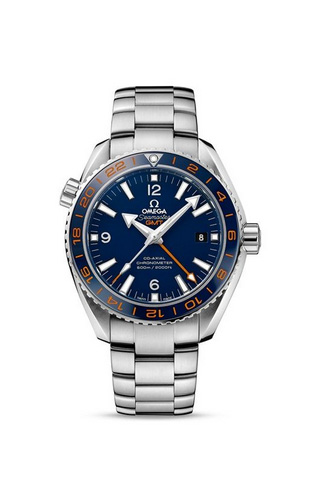 Planet Ocean 600M OMEGA Co-Axial GMT 43,5 mm