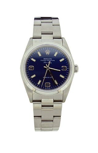 orologi usati: Rolex Air King Quadrante Blu